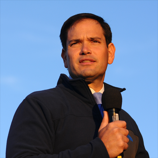 mArco rubio blue blog